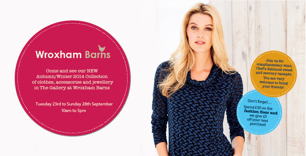 You are invited to see our Autumn/Winter 2014 Collection