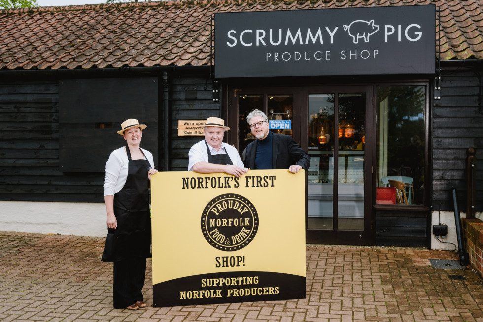 Scrummy Pig announced as the first ever Proudly Norfolk Shop!