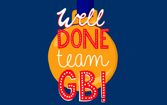 Well done Team GB!
