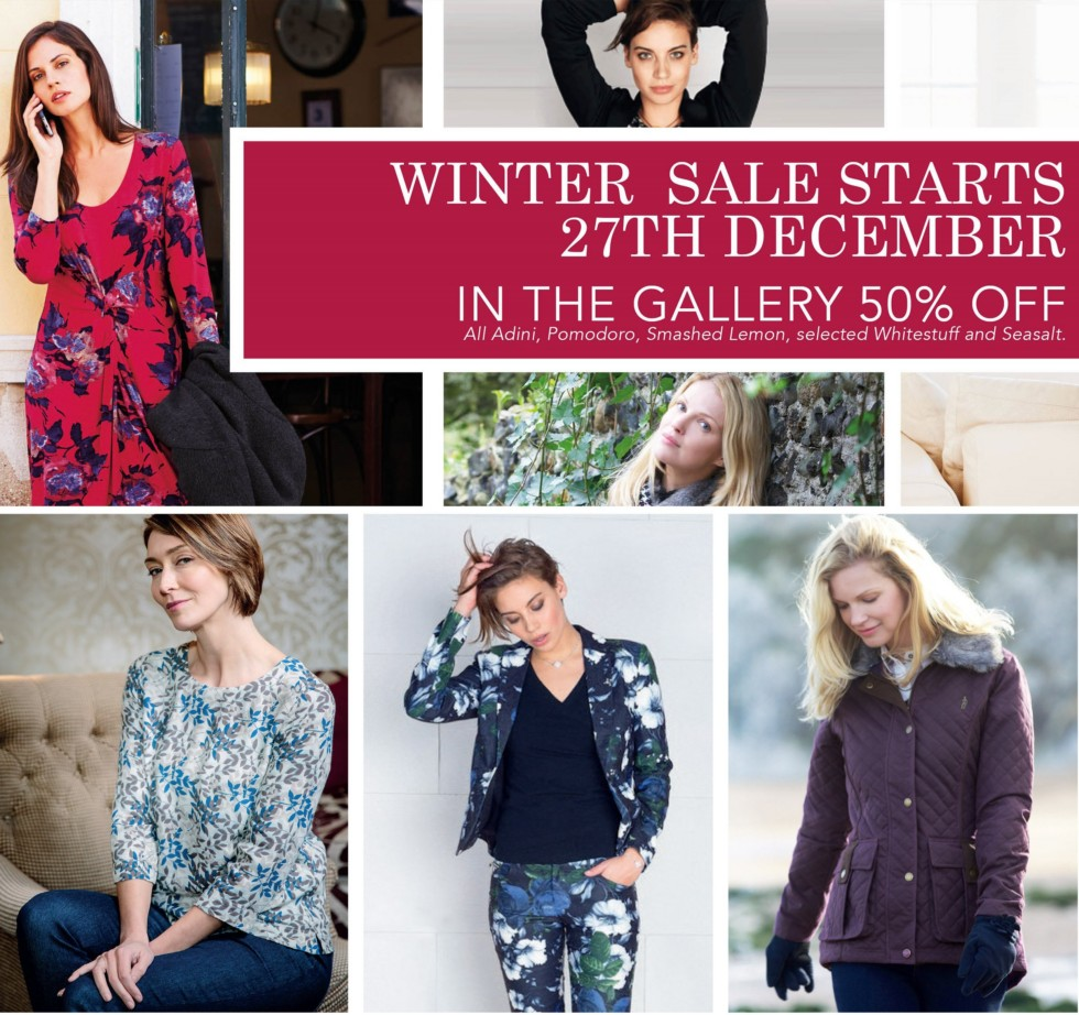 50% off Winter Fashion SALE…why wait?