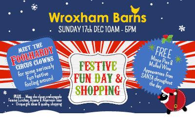 Festive Fun Day Sunday 17th December