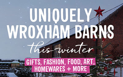 Uniquely Wroxham Barns this winter..