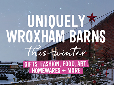 Uniquely Wroxham Barns this winter..
