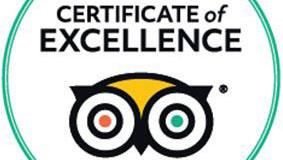 Our Restaurant is award-winning!