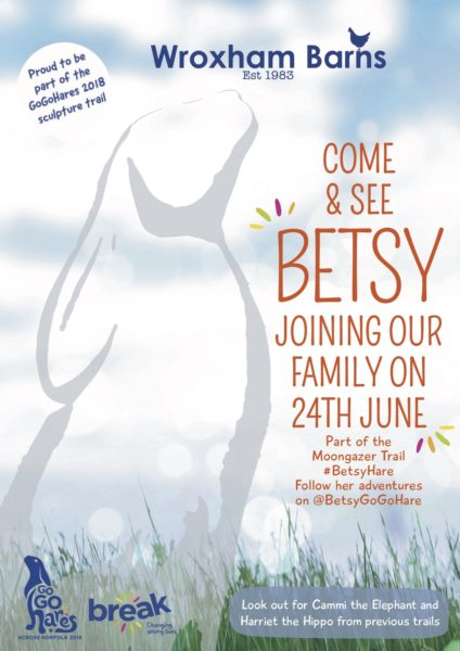 Betsy Hare Poster