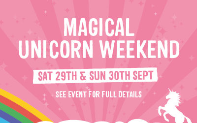 Magical Unicorn Weekend on Junior Farm 29th/30th September 2018