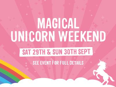 Magical Unicorn Weekend on Junior Farm 29th/30th September 2018