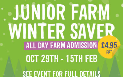 New Junior Farm Winter Saver Offer